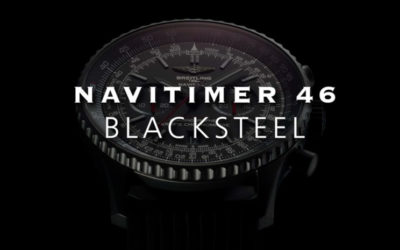 "Breitling ""The Navitimer 46 Blacksteel"""