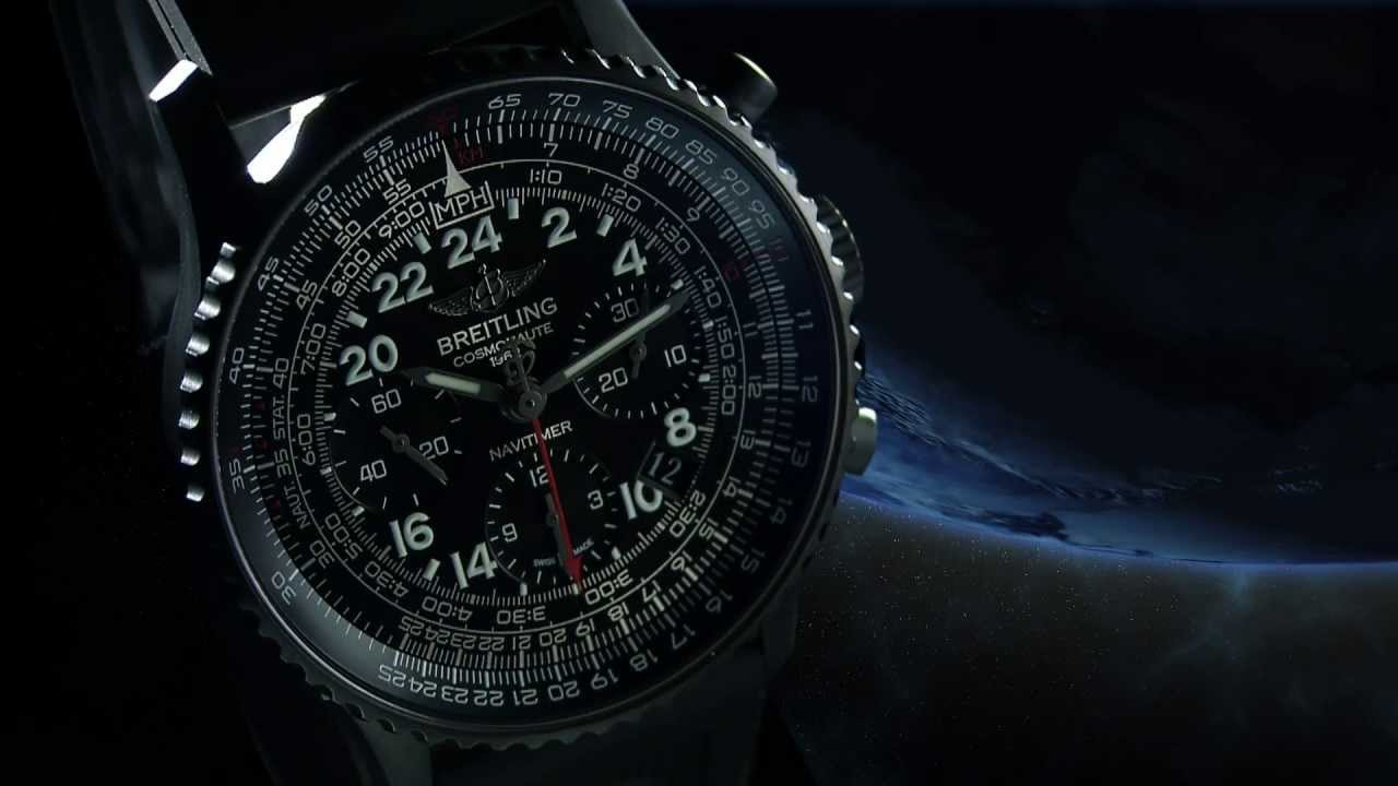 limitiert: Navitimer Cosmonaute Blacksteel