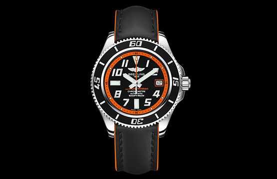 Limitiert: Breitling Superocean 42 Abyss Orange